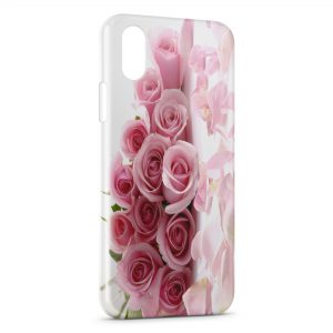 Coque iPhone X & XS Roses