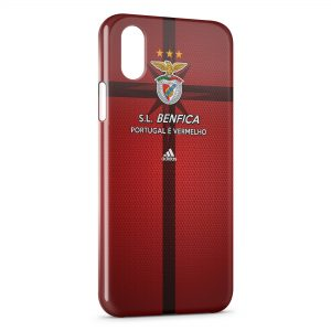 Coque iPhone X & XS SL Benfica Portugal Football