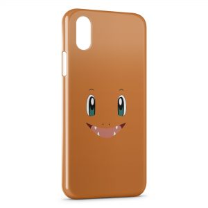 Coque iPhone X & XS Salameche Simple Art Pokemon