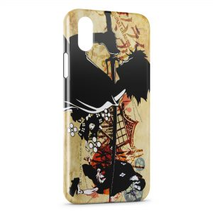 Coque iPhone X & XS Samurai Champloo Manga