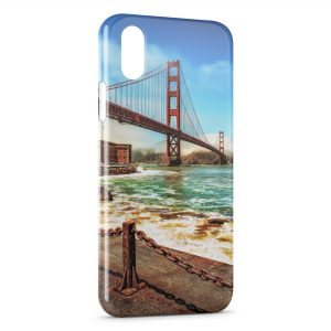 Coque iPhone X & XS San Francisco