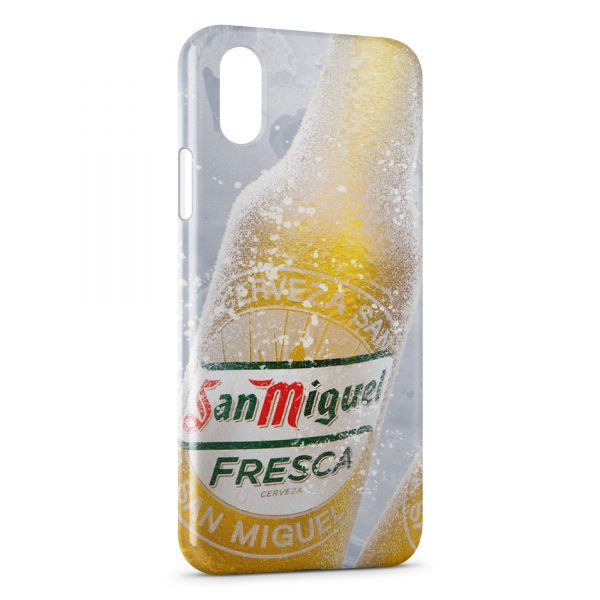 coque iphone x biere