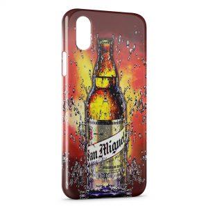 Coque iPhone X & XS San Miguel Bière Cerveza Espagnole 3