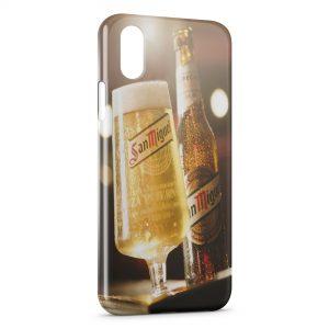 Coque iPhone X & XS San Miguel Bière Cerveza Espagnole 4