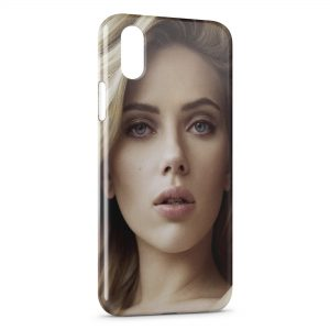 Coque iPhone X & XS Scarlett Johansson 2
