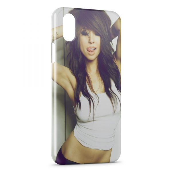 Coque iPhone X & XS Sexy Girl 14
