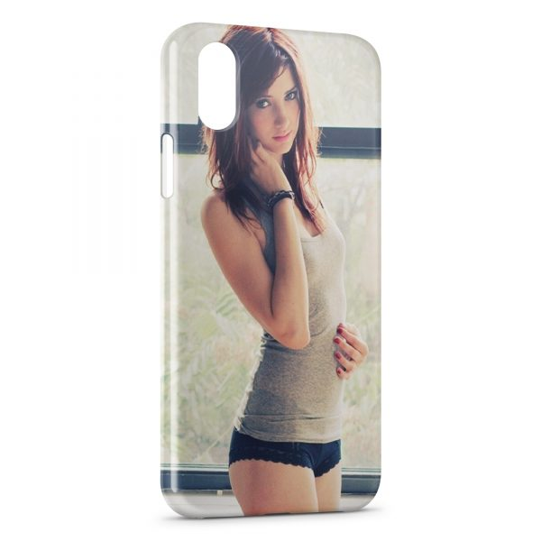 Coque iPhone X & XS Sexy Girl 18