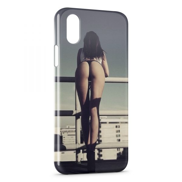 Coque iPhone X & XS Sexy Girl 22
