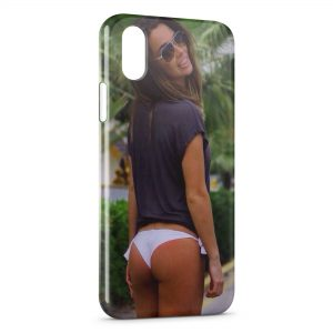 Coque iPhone X & XS Sexy Girl 24