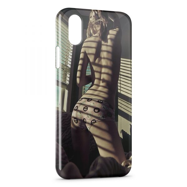 Coque iPhone X & XS Sexy Girl 26