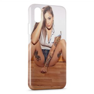 Coque iPhone X & XS Sexy Girl 28