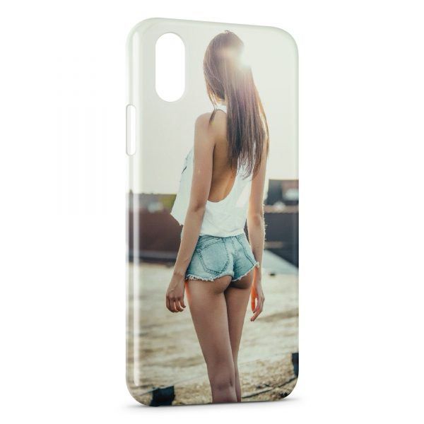 Coque iPhone X & XS Sexy Girl 29