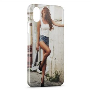 Coque iPhone X & XS Sexy Girl 30