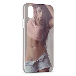 Coque iPhone X & XS Sexy Girl 42