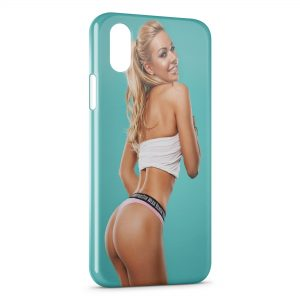 Coque iPhone X & XS Sexy Girl 43