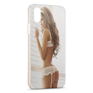 Coque iPhone X & XS Sexy Girl 50 Malcolm X