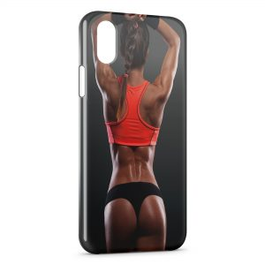 Coque iPhone X & XS Sexy Girl Fitness