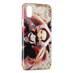 Coque iPhone X & XS Sexy Girl Manga