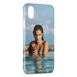 Coque iPhone X & XS Sexy Girl & Water