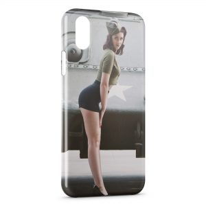 Coque iPhone X & XS Sexy Pin Up