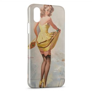 Coque iPhone X & XS Sexy Pin Up 3