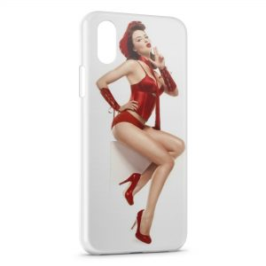 Coque iPhone X & XS Sexy Pin Up 5