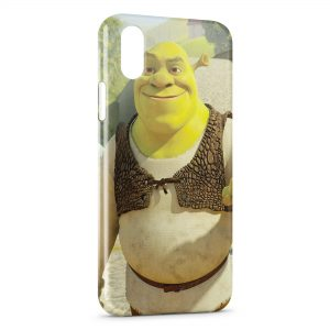 Coque iPhone X & XS Shrek 2