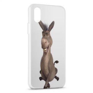 Coque iPhone X & XS Shrek Ane