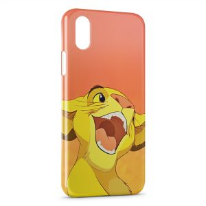 Coque iPhone X & XS Simba Le Roi Lion