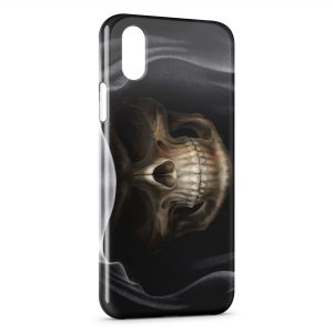 Coque iPhone X & XS Skull Evil