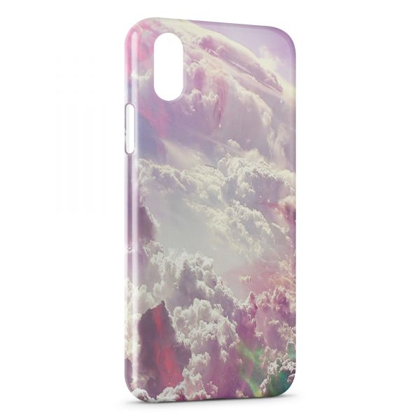 Coque iPhone X & XS Sky Paradise Heaven