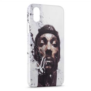 Coque iPhone X & XS Snoop Dogg