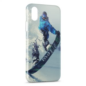 Coque iPhone X & XS Snowboarding 2
