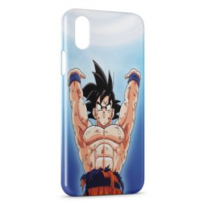 Coque iPhone X & XS Son Goku Dragon Ball Z