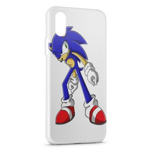 Coque iPhone X & XS Sonic