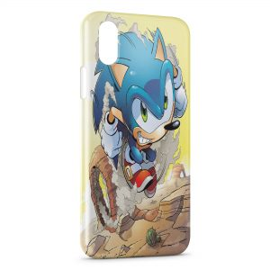 Coque iPhone X & XS Sonic 4