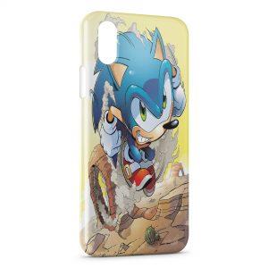 Coque iPhone X & XS Sonic 4
