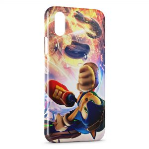 Coque iPhone X & XS Sonic 7