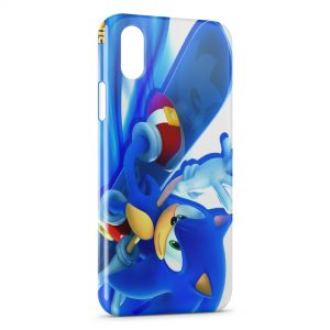 Coque iPhone X & XS Sonic 9