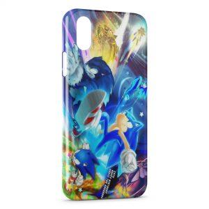 Coque iPhone X & XS Sonic SEGA