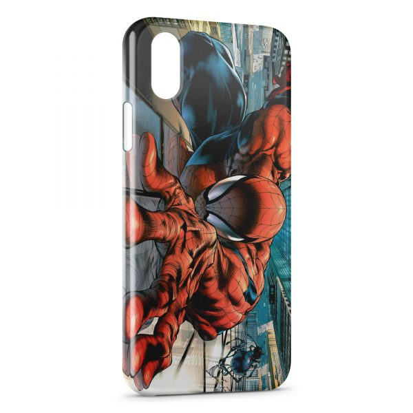 Coque iPhone X XS Spider Man Comic 1 600x600