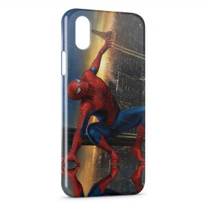 Coque iPhone X & XS Spiderman 4
