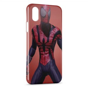 Coque iPhone X & XS Spiderman 6