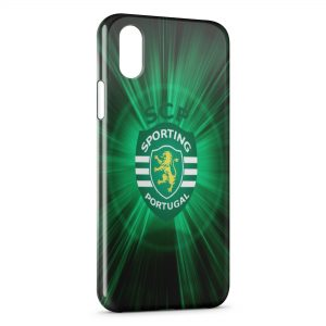 Coque iPhone X & XS Sporting Portugal Football