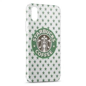 Coque iPhone X & XS Starbucks Coffee Design Green