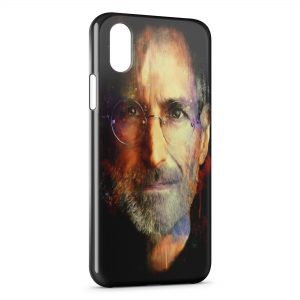 Coque iPhone X & XS Steve Jobs Apple