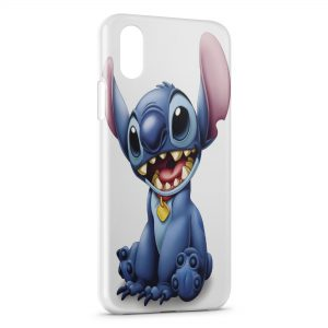 Coque iPhone X & XS Stitch Art Graphic
