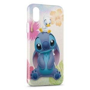 Coque iPhone X & XS Stitch Canard