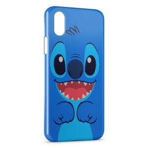 Coque iPhone X & XS Stitch Cute Simple Art