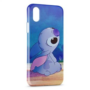 Coque iPhone X & XS Stitch le Nez en l'air